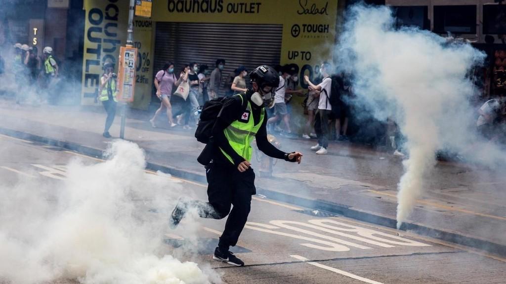 要闻解说 - 香港周日再现抗议活动 反对港版国安法