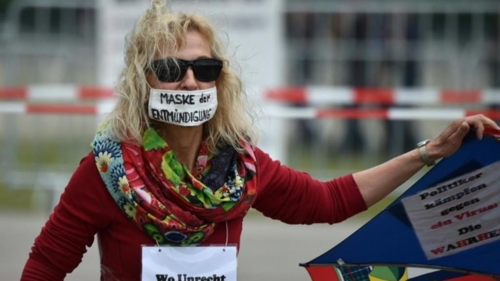 德国各地掀多场示威 抗议防疫封锁命令 – 法国国际广播电台 - RFI