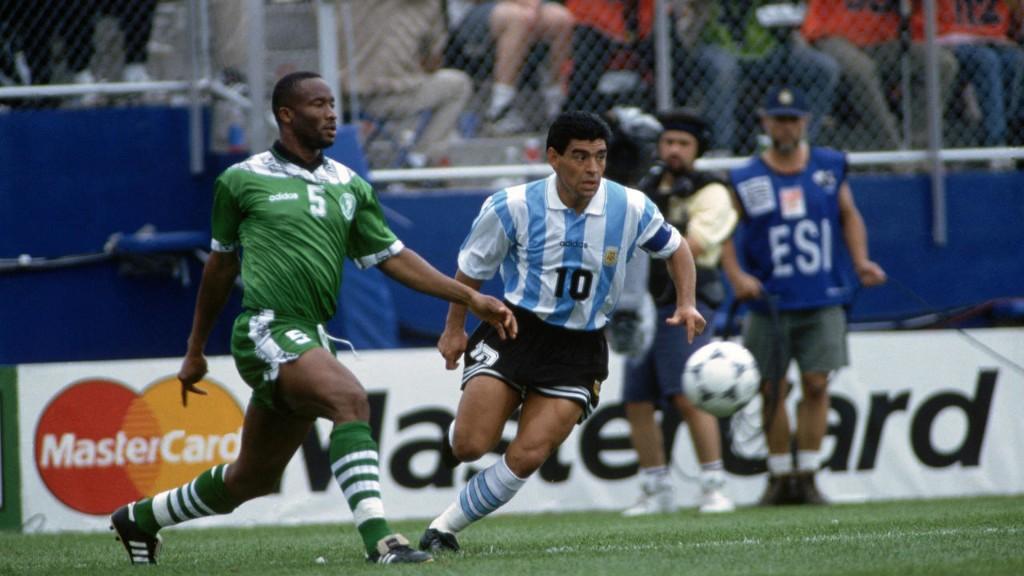 Entre Diego Maradona et le foot africain, respect et affection