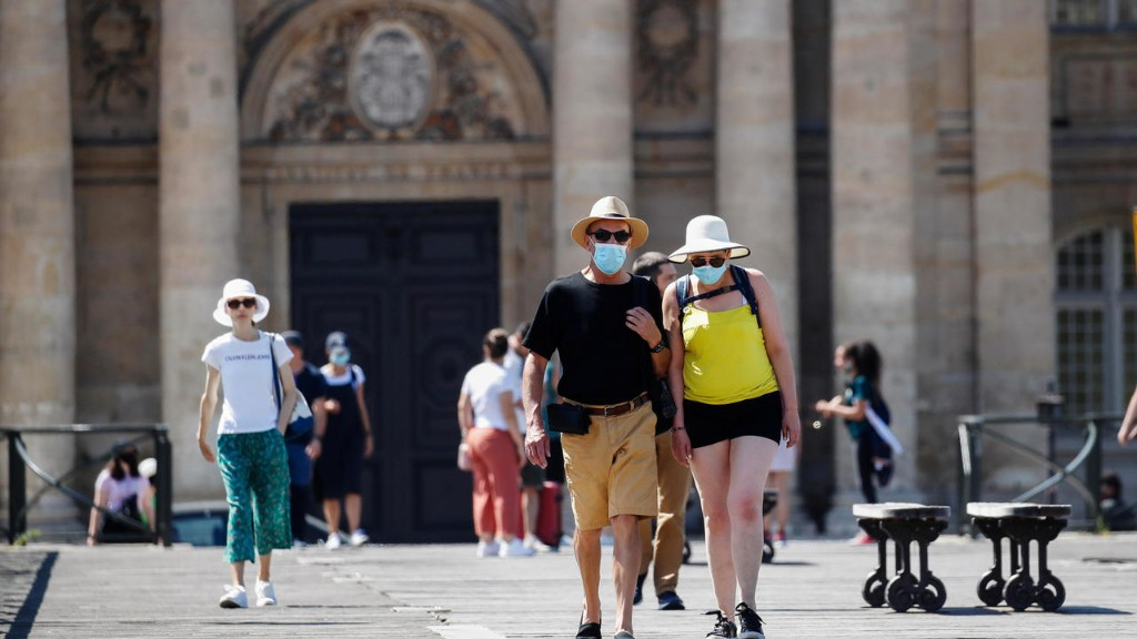 Paris confirms face masks outdoors as France fights Covid-19