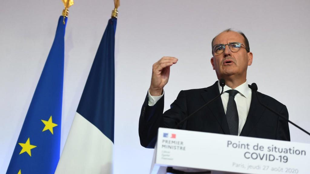 France: Castex défend les mesures prises par le gouvernement pour enrayer la pandémie