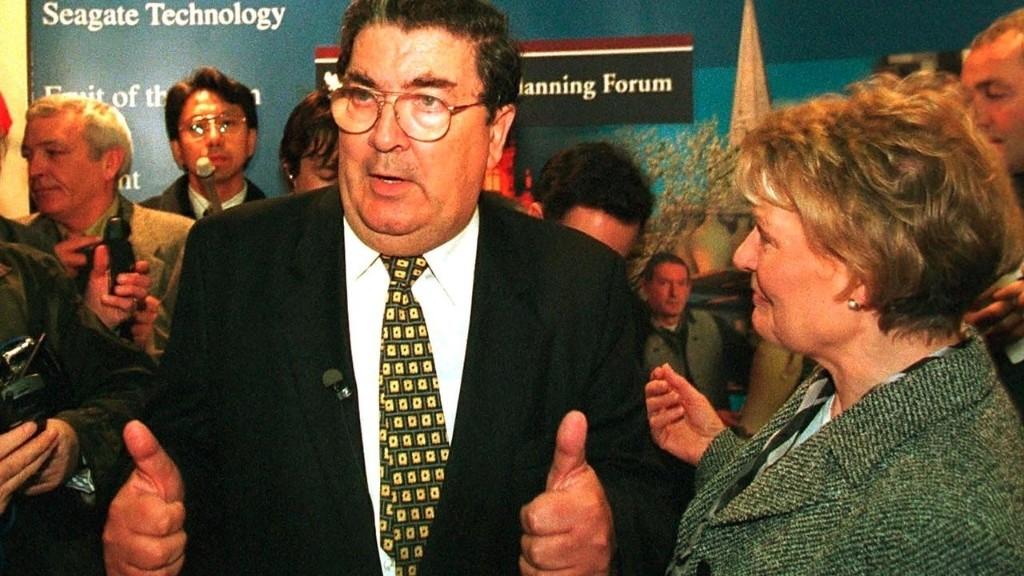 Irlande du Nord: le prix Nobel de la paix John Hume est mort