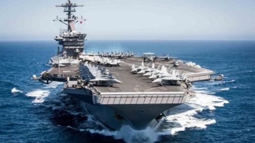 Brote de coronavirus en un portaaviones estadunidense