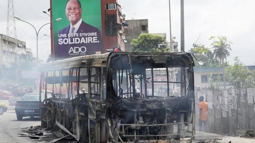 Côte d'Ivoire: des affrontements sporadiques dans plusieurs villes