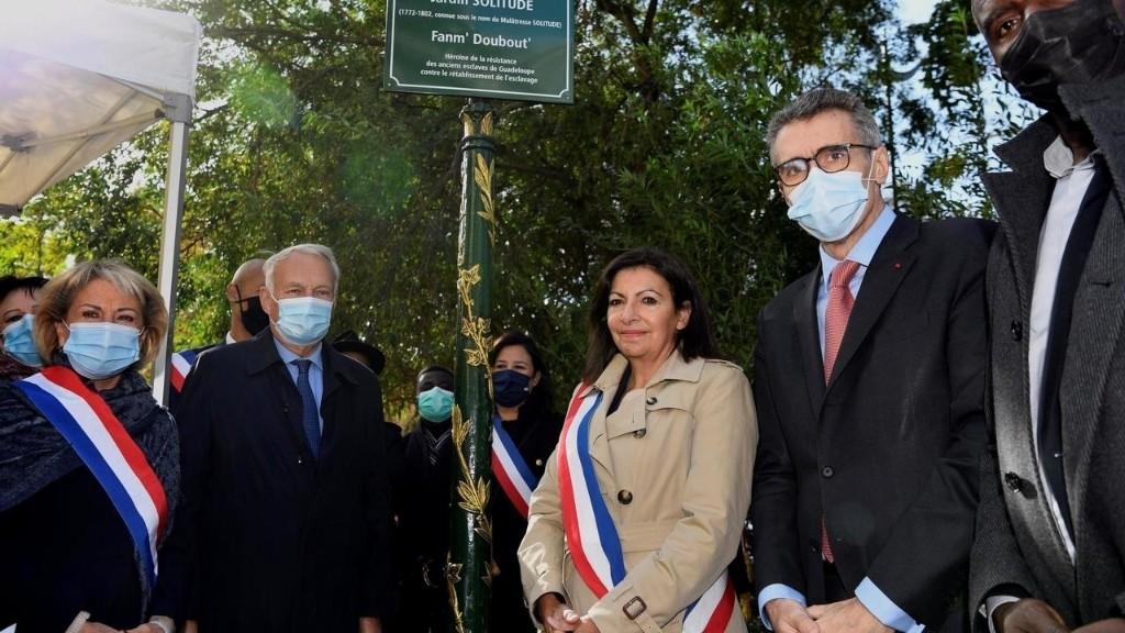 France: un jardin pour une héroïne de la résistance des esclaves, en attendant une statue