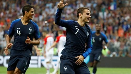 Mondial 2018: Antoine Griezmann, symbole de la métamorphose des Bleus