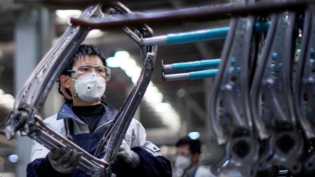 Chine: malgré le coronavirus, le secteur manufacturier progresse en mai