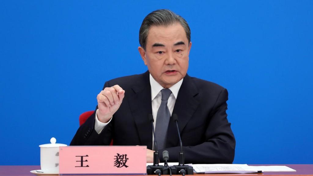 """王毅:中国无意改变或取代美国 """"新冷战""""是开历史倒车"""