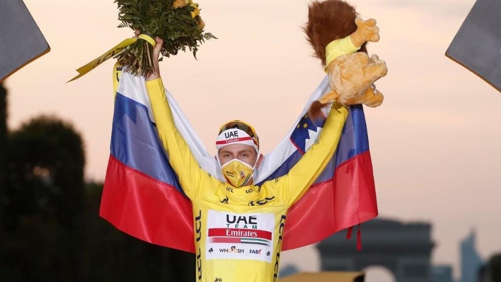 Slovenian Tadej Pogacar claims 2020 Tour de France