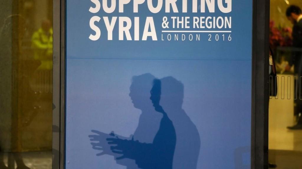 Syrie: la conférence des donateurs veut récolter 9 milliards de dollars