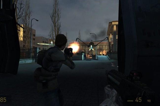 Опубликовано видео геймплея отмененной игры Half-Life 2: Episode 4