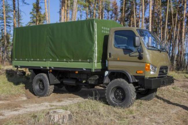 """Украинский """"Богдан"""" снова попытался сделать замену советскому ГАЗ-66"""