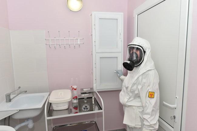 В Татарстане из заболевших COVID-19 закрыли приемный покой больницы