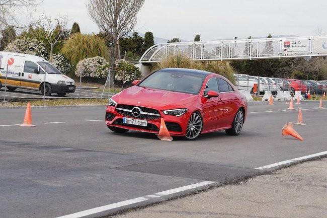 """Mercedes-Benz CLA показал не лучший результат в """"лосином тесте"""""""