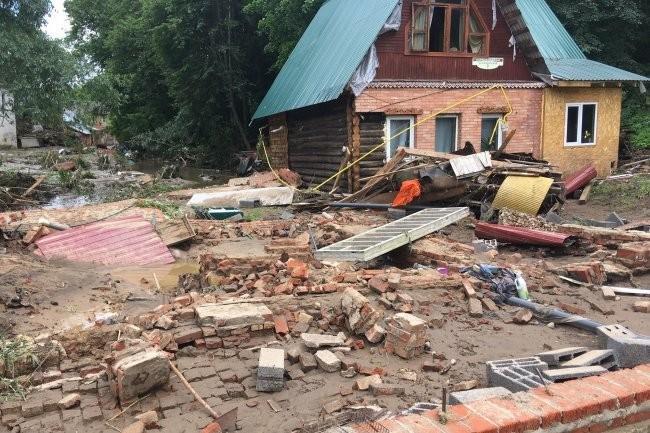 Воробьев: Все пострадавшие от стихии жители Рузы получат компенсации