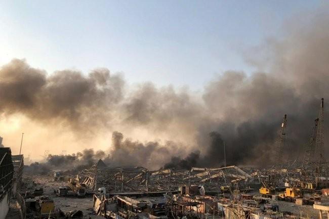 МЧС отправит в Бейрут 5 спецбортов с мобильным госпиталем и медиками