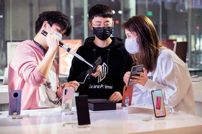 В Китае восстановился спрос на электронные устройства