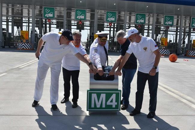 Новый платный участок на М-4 открыли в Воронежской области