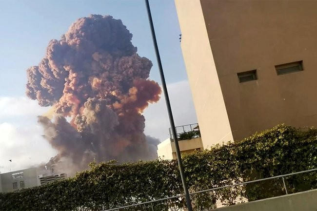 "Таможня Ливана предупреждала власти о ""пороховой бочке"" в центре Бейрута"