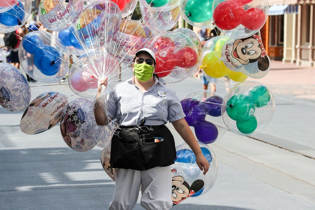 What It's Like to Work at Disney World During a Pandemic