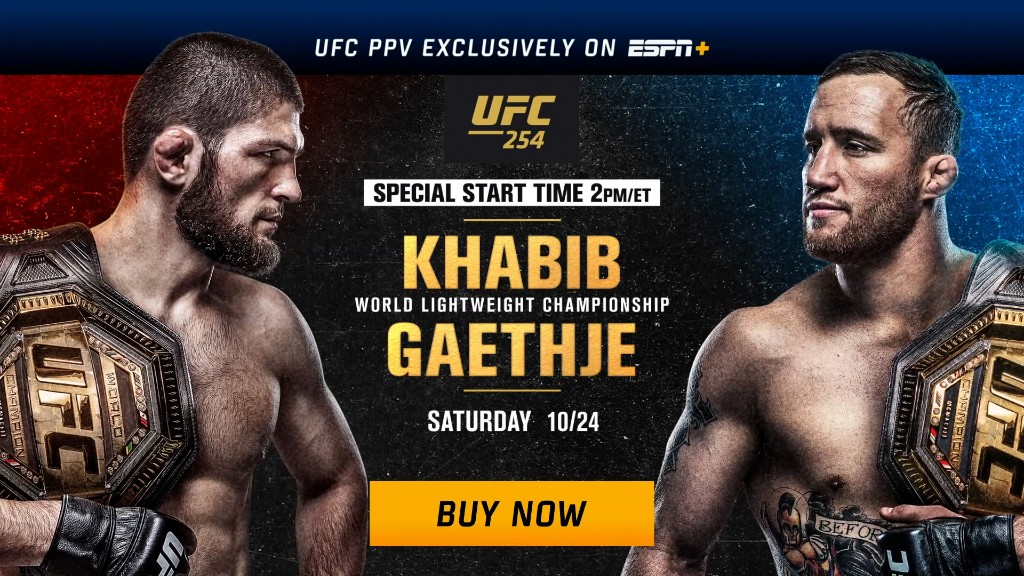 Khabib's Reign Under Threat From Gaethje at UFC 254