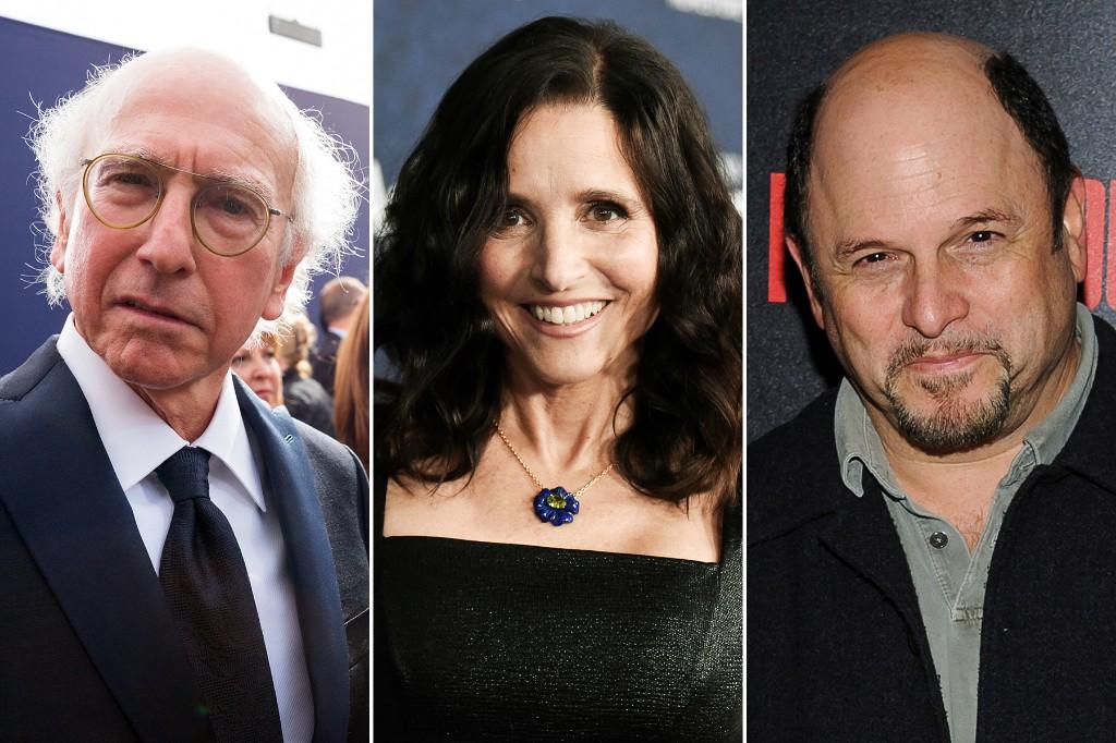Julia Louis-Dreyfus, Larry David, Jason Alexander to Reunite for Texas Democratic Party Fundraiser