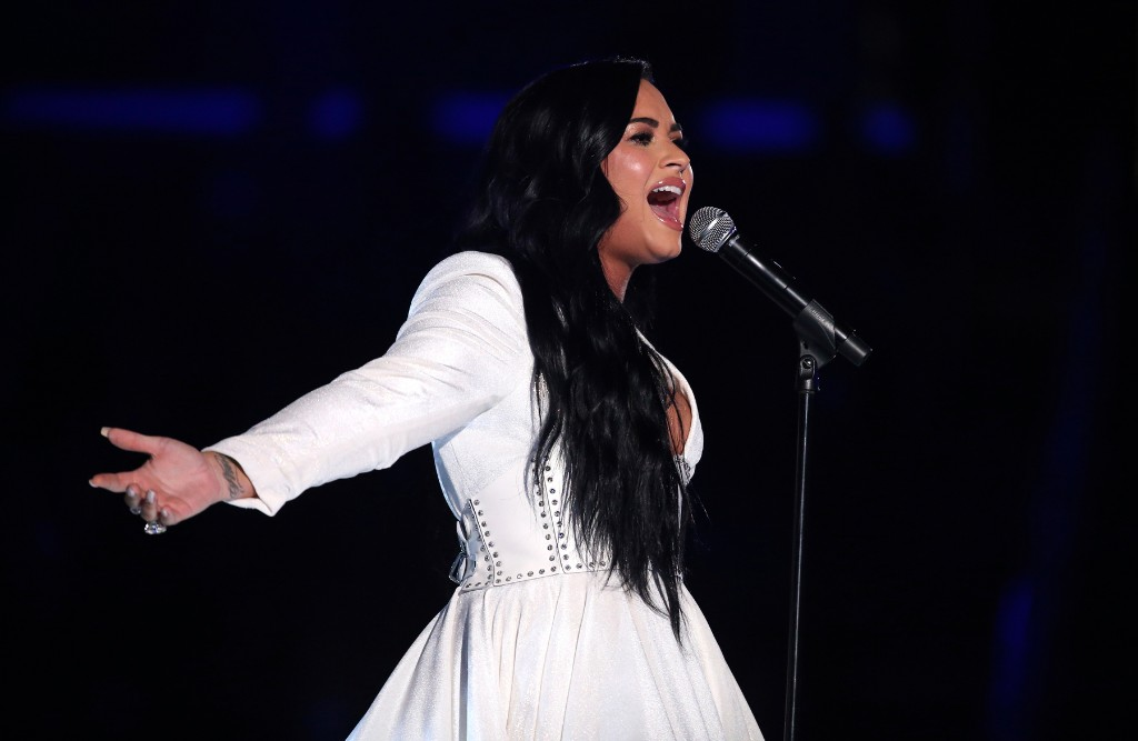 Demi Lovato to Appear During 'Vote With Us' Virtual Rally