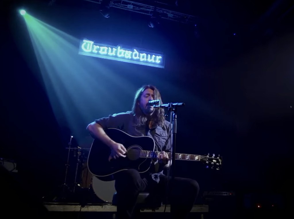 Watch Foo Fighters Play Acoustic Set at Empty Troubadour for Save Our Stages Fest