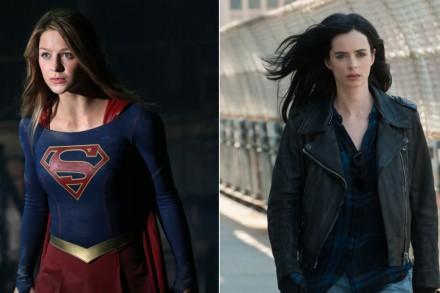 'Supergirl' and 'Jessica Jones': Welcome to Peak Superheroine TV