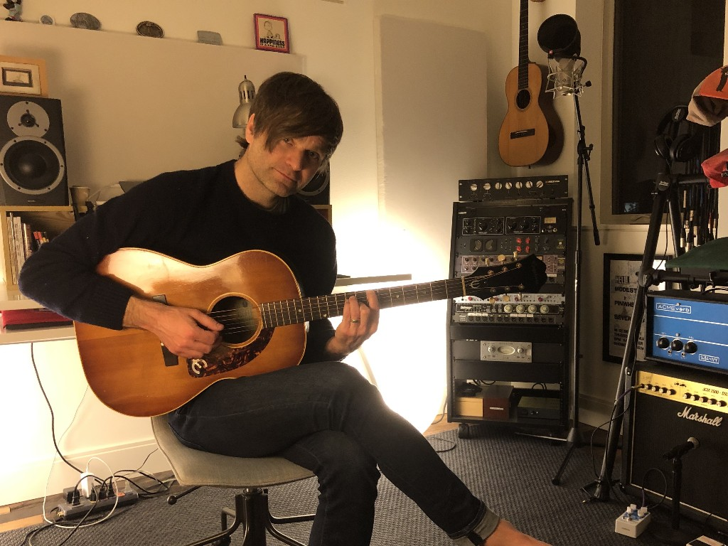 Ben Gibbard Announces Daily Livestream Shows From His Home Studio