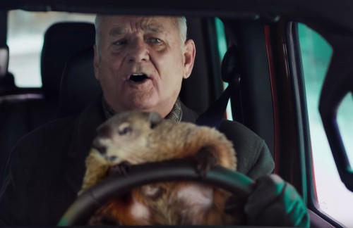 Watch Bill Murray Return to 'Groundhog Day' in New Super Bowl Commercial