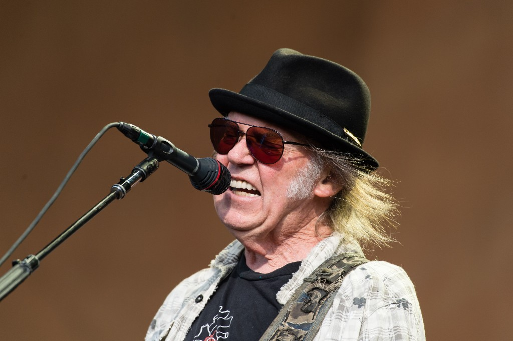 Neil Young on His Music at Trump's Mount Rushmore Rally: 'This Is NOT OK With Me'