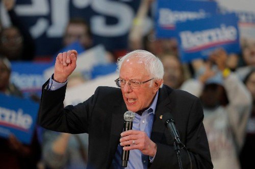 Bernie Sanders Blasts Trump's Choice of 'Pray on It' Pence to Oversee Coronavirus Response