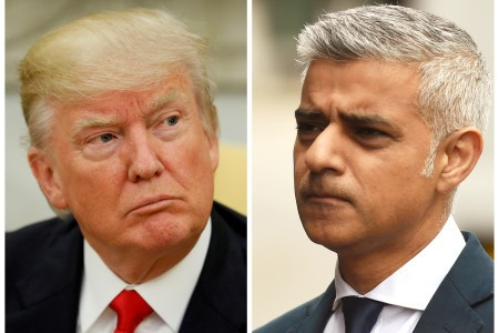 London Mayor Sadiq Khan Won't 'Roll Out the Red Carpet' for Trump After Insults