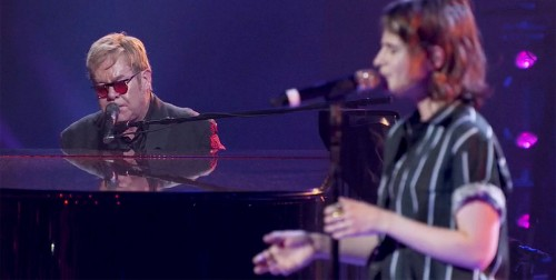 See Elton John, Christine and the Queens Perform Evocative 'Tiny Dancer'