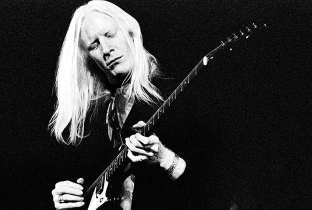Johnny Winter - Magazine cover