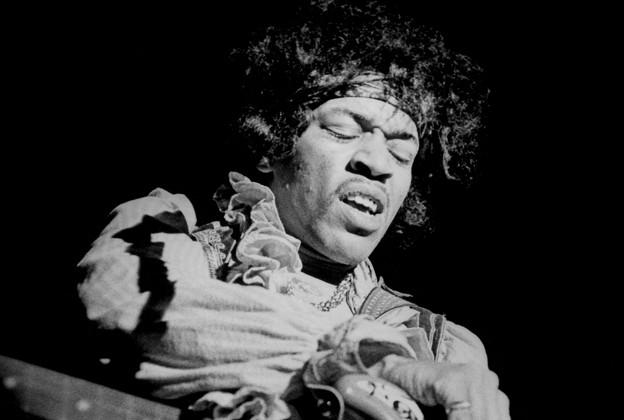 Jimi Hendrix - Magazine cover