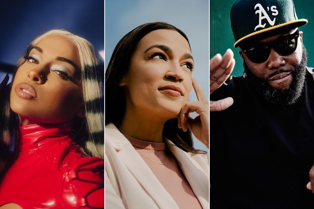 Alexandria Ocasio-Cortez, Princess Nokia, Bernie Sanders, Killer Mike Lead 'Fridays for Unity'