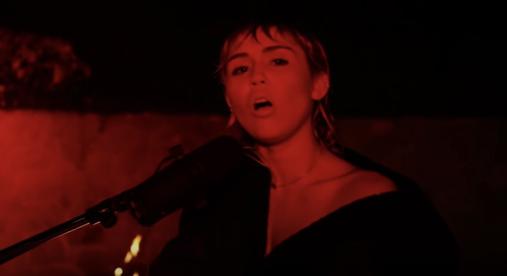 See Miley Cyrus Cover Pink Floyd's 'Wish You Were Here' on 'SNL at Home'