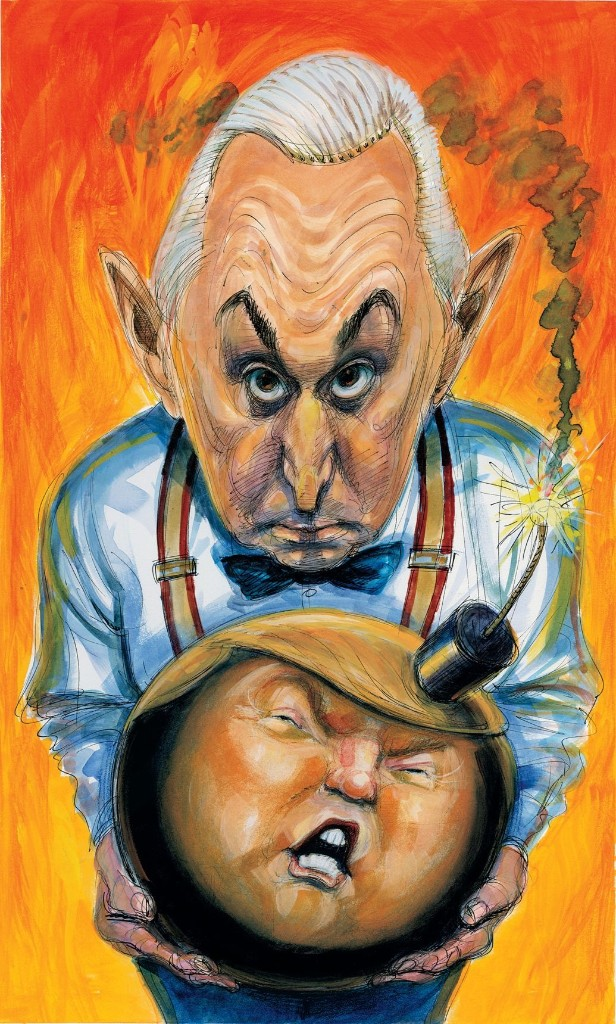 Trump - Magazine cover