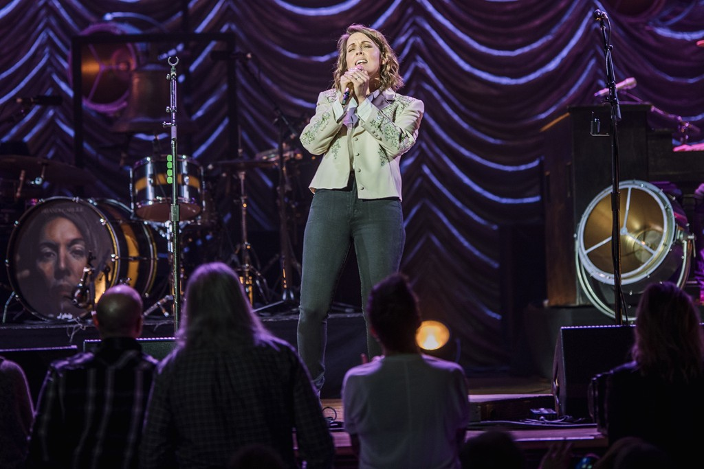 See Brandi Carlile Sing 'Total Eclipse of the Heart' With Lucie Silvas Onstage in Nashville