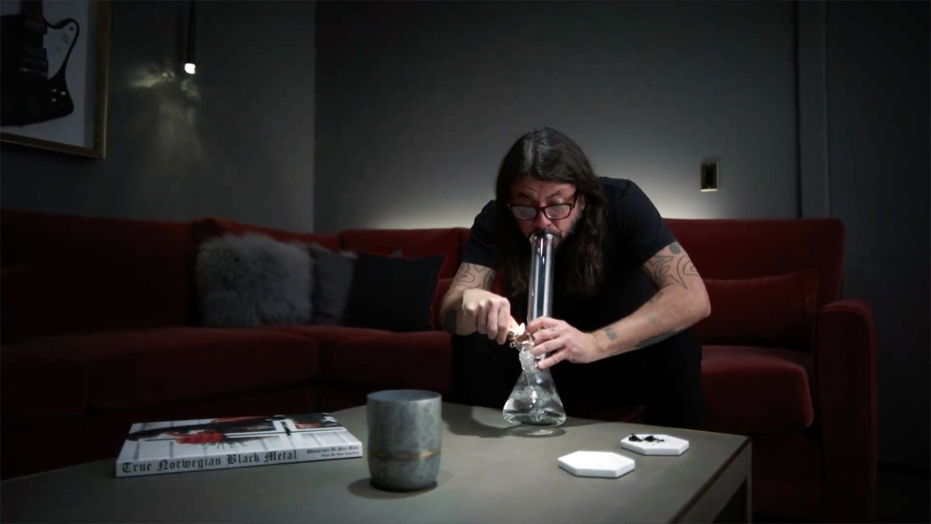 Watch Dave Grohl Fight Coffee Addiction in Freshpotix Parody Ad