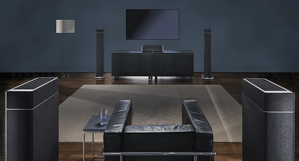Save Space and Boost Bass With These Floorstanding Speaker Subwoofer Sets