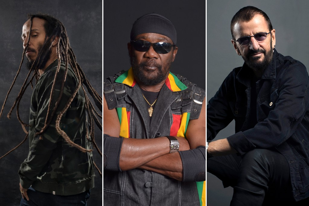 Toots and the Maytals, Ziggy Marley and Ringo Starr Unite for 'Three Little Birds' Cover