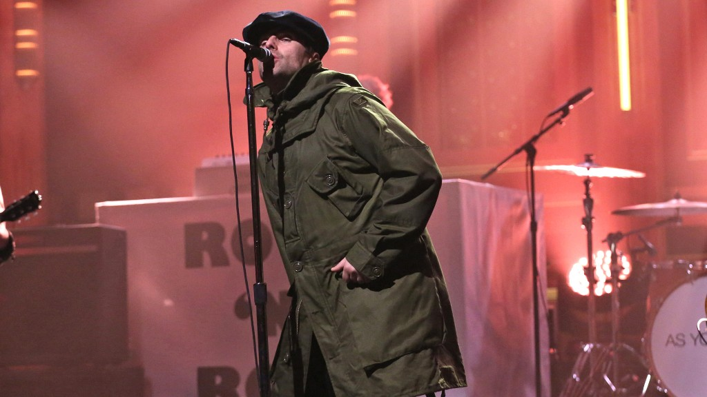 Watch Liam Gallagher Perform Heavy 'Come Back to Me' on 'Fallon'