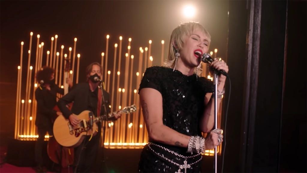 Watch Miley Cyrus Cover Billie Eilish's 'My Future'