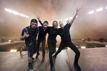 Metallica Eye 'Full-On Touring' in America Next Year