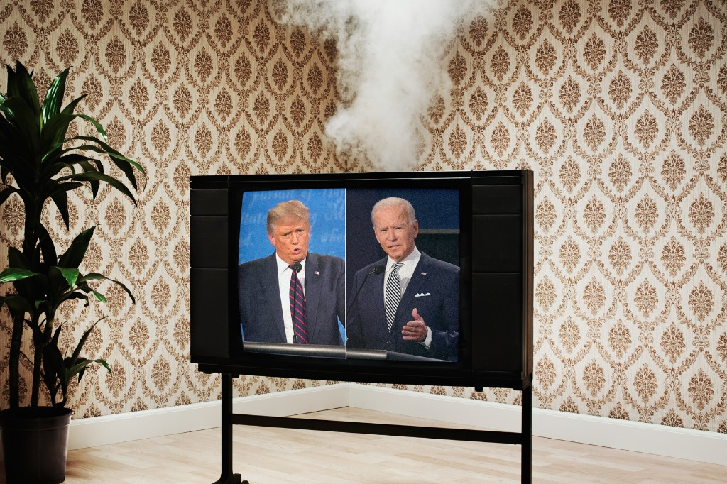 Will a Muted Microphone Be Able to Stop Trump From Interrupting Biden During the Debate?