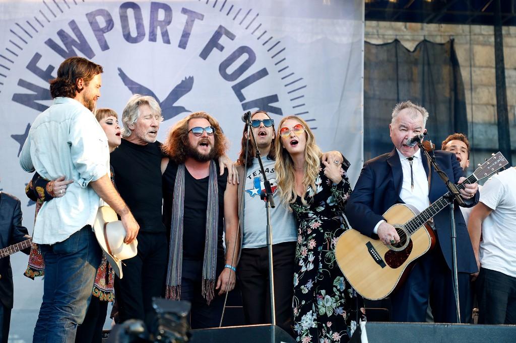 Remembering John Prine's Guest-Packed 2017 Newport Folk Festival Set