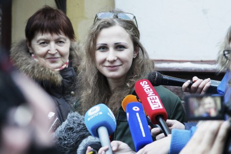 Pussy Riot's Maria Alyokhina: 'I Was Always Free Because I Felt Free'
